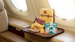 Los nuevos amenity kits de Qatar Airways