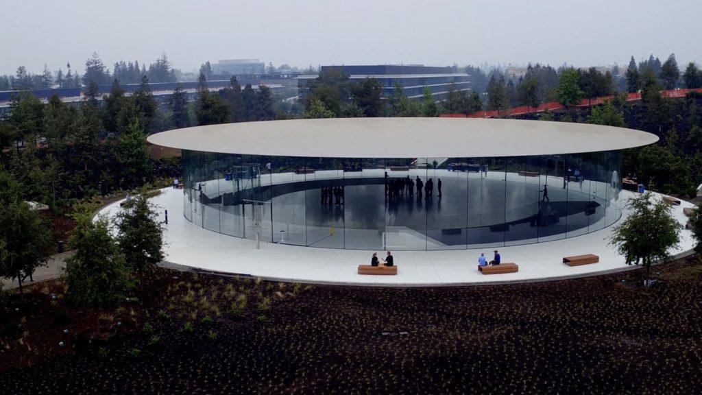 [Video] Así luce el impresionante Steve Jobs Theatre a días de la presentación del iPhone 8