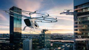 [Video] Dubái ya prueba el Volocopter, el taxi volador autónomo