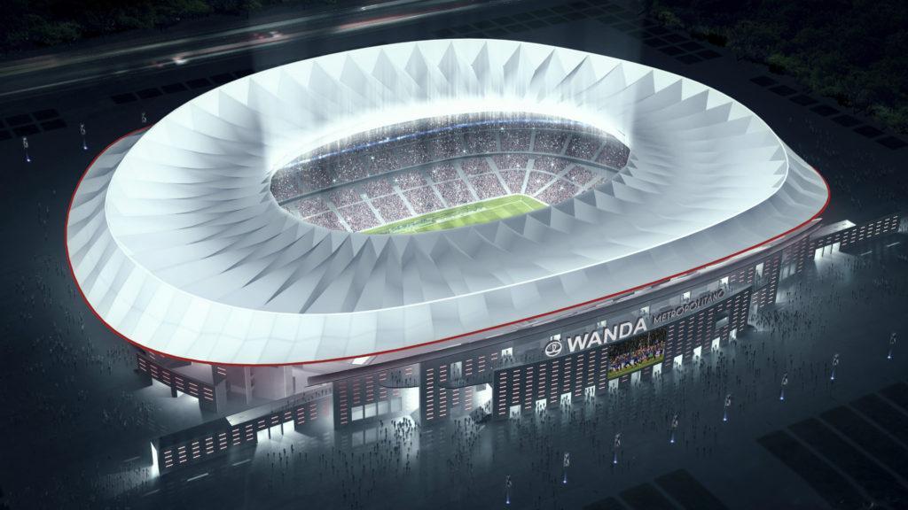 [Video] Así es el imponente estadio de Atlético de Madrid que inaugura esta semana