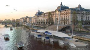 Los taxis voladores sobre el agua desembarcan en Ginebra
