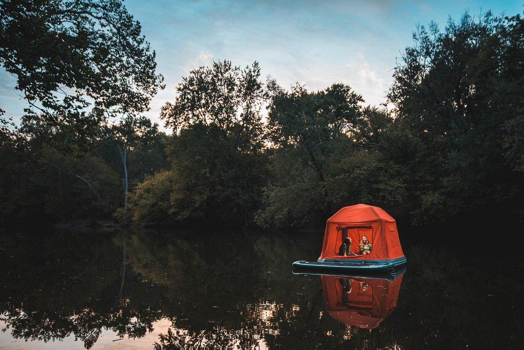 La carpa flotante. ¿Una nueva tendencia?
