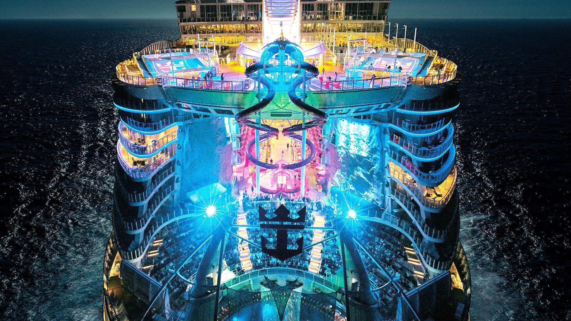 Así será el crucero más grande del mundo