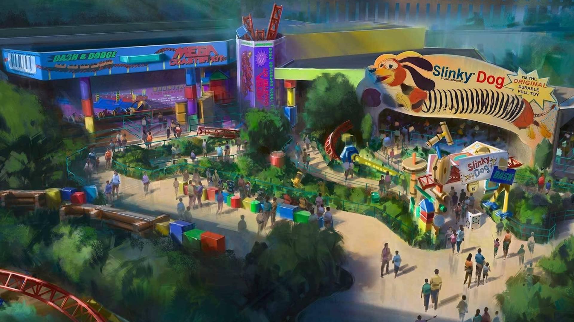 Llega el parque de Toy Story a Disney's Hollywood Studios