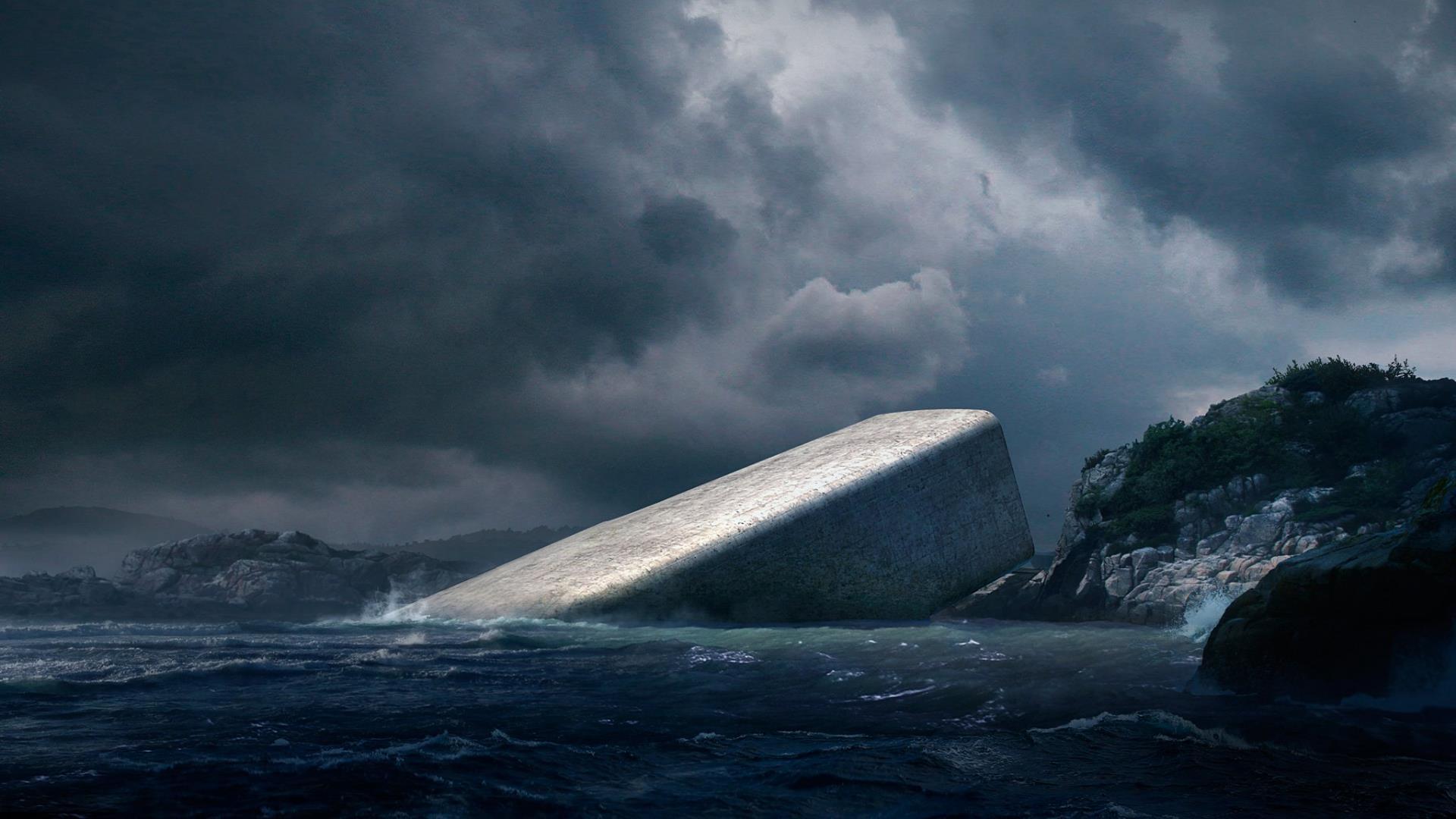 [Imágenes] Así será el primer restaurante submarino de Europa