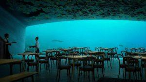 Este es Under, el primer restaurante bajo el agua de Europa: imágenes