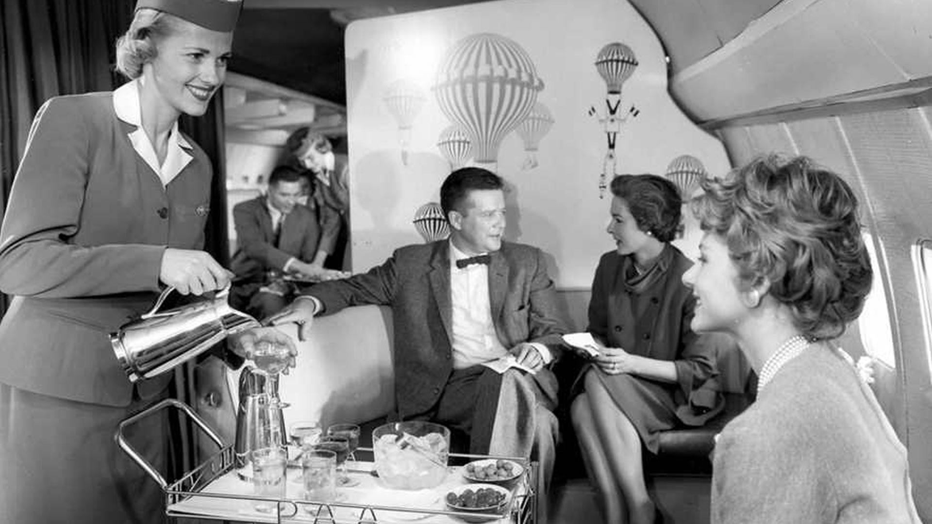¿Cómo era volar en avión en la década de los 50? Este video nos lo muestra
