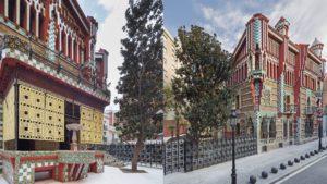 Este mes abre al público en Barcelona, Casa Vicens, la primera residencia construida por Gaudi