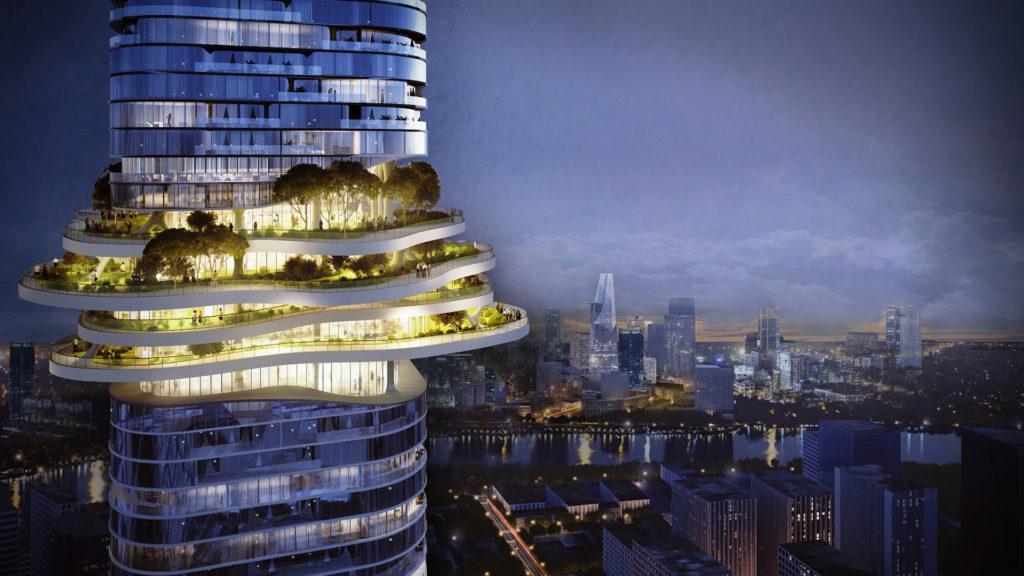 La sorprendente torre que cambiará el skyline de Vietnam