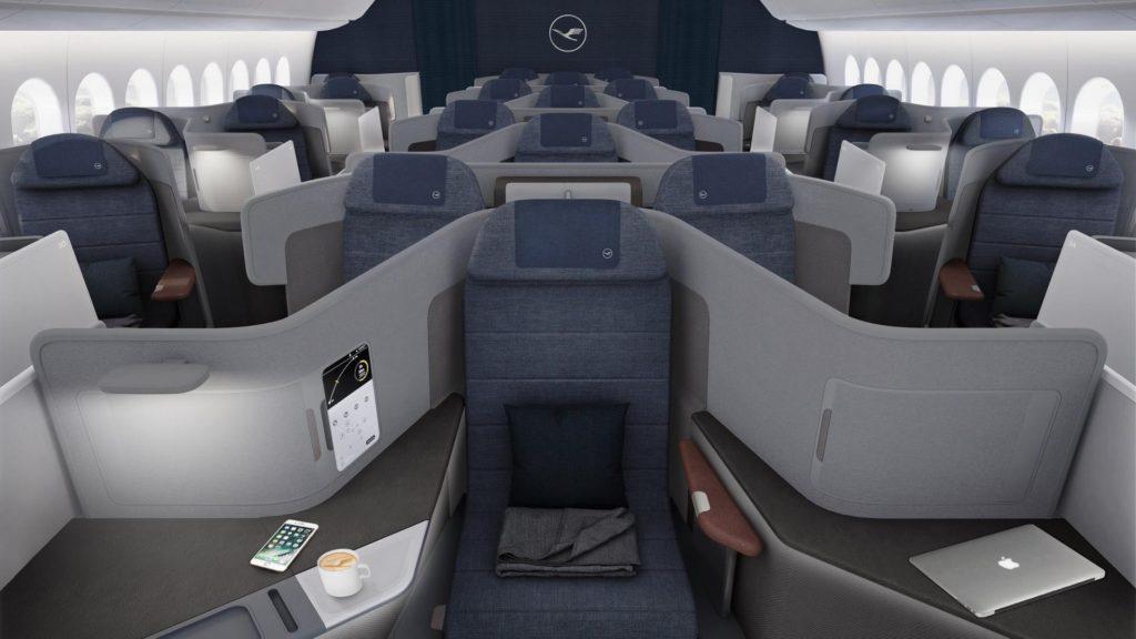 Así es la nueva Business Class de Lufthansa, y sorprende