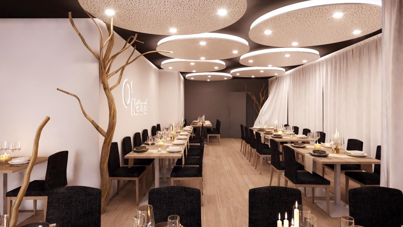 Inauguró el primer restaurante nudista de París