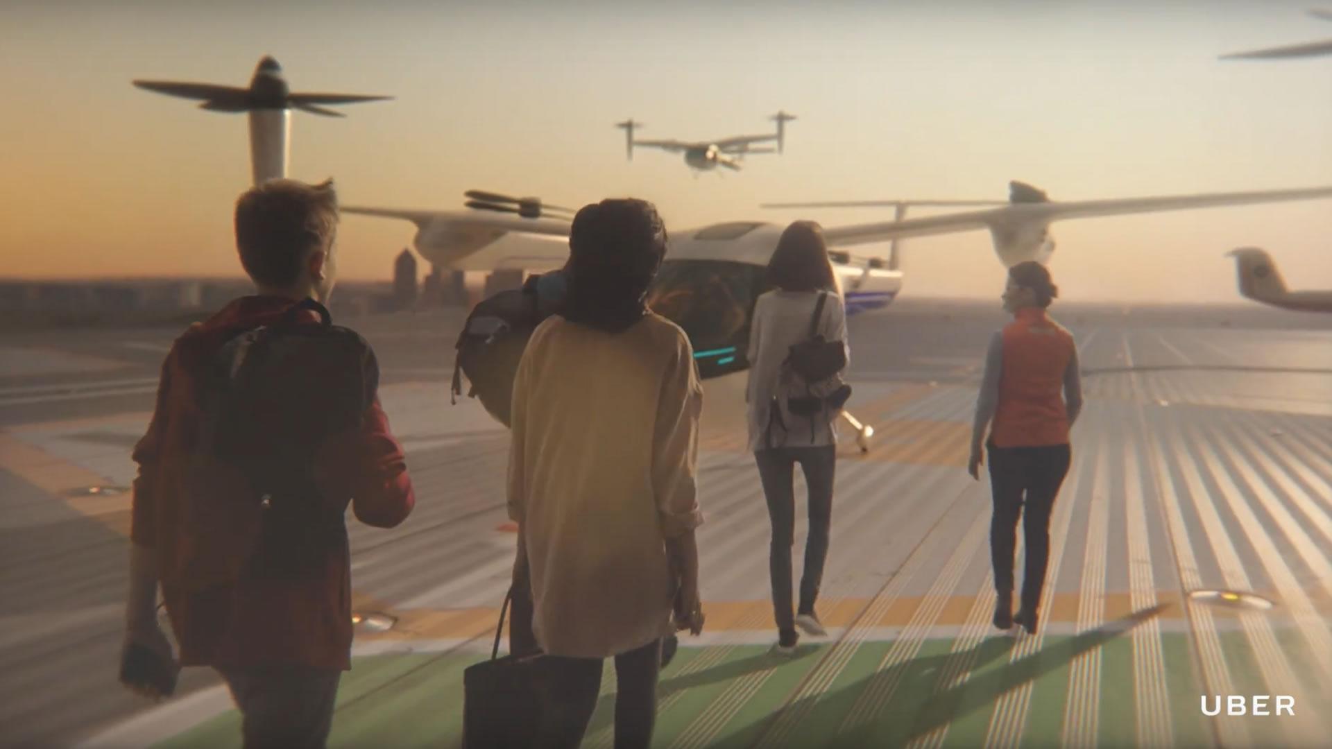 [Video] Así serán los autos voladores de Uber que despegarán en 2020