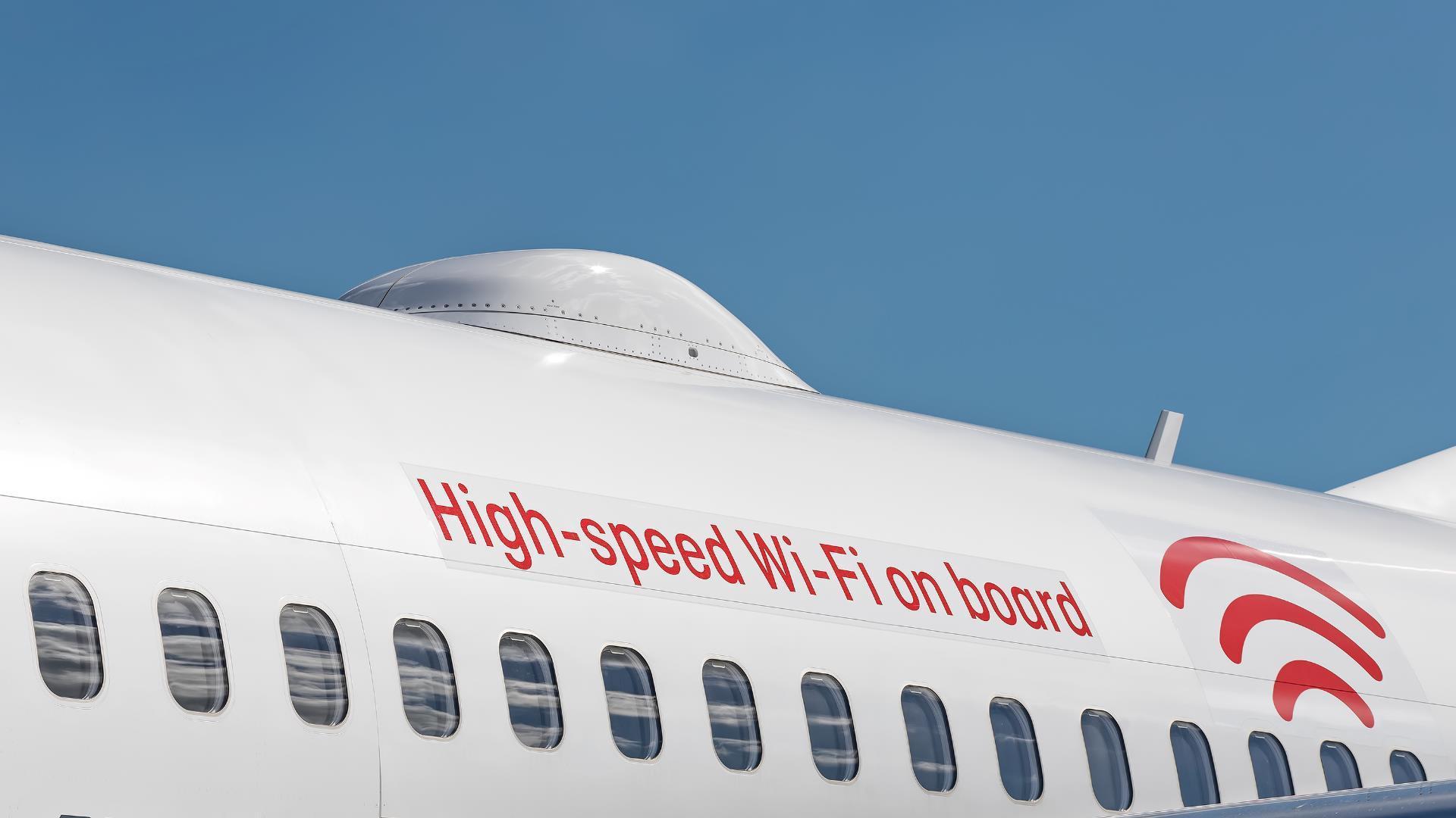 Wi-Fi en los aviones será cada vez más rápido
