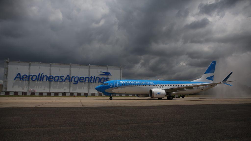 Aerolíneas Argentinas es la primera empresa de América Latina que operará el nuevo Boeing 737 800 Max 8