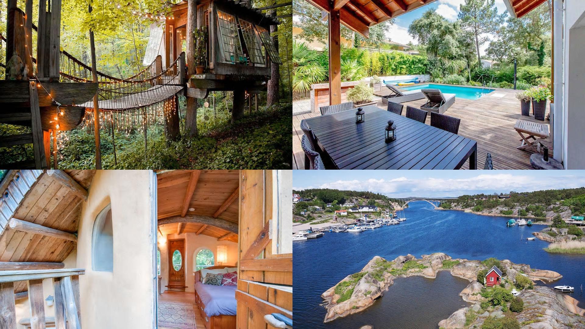 Las casas y departamentos más deseados en Airbnb, según cada país