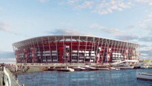 Uno de los estadios del Mundial Qatar 2022 se construirá con contenedores: imágenes