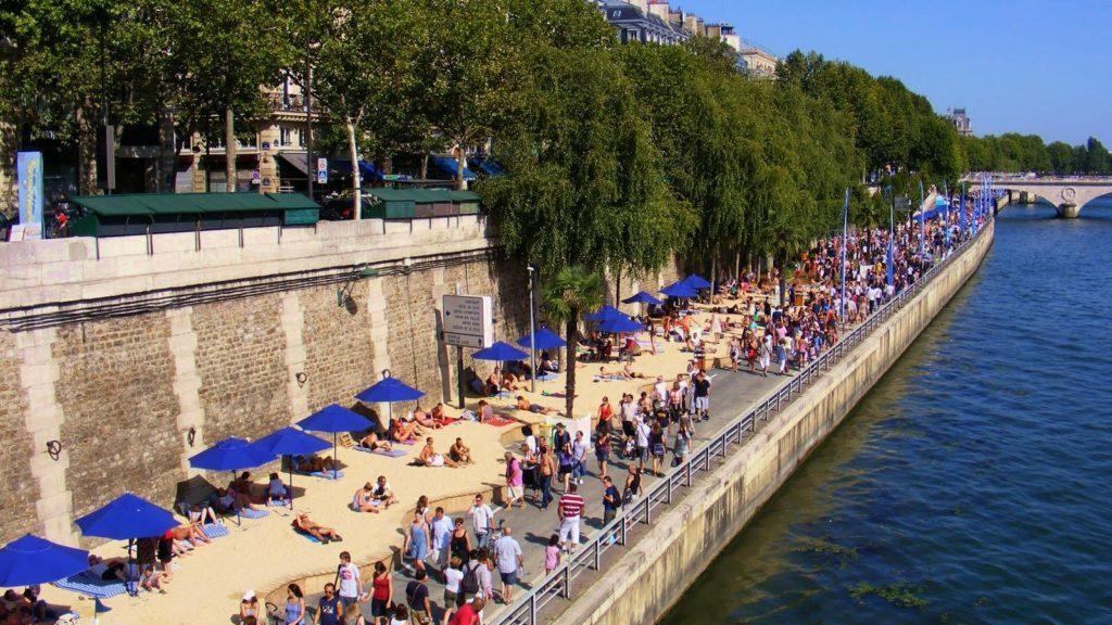 Roma tendrá playa este verano en el río Tíber