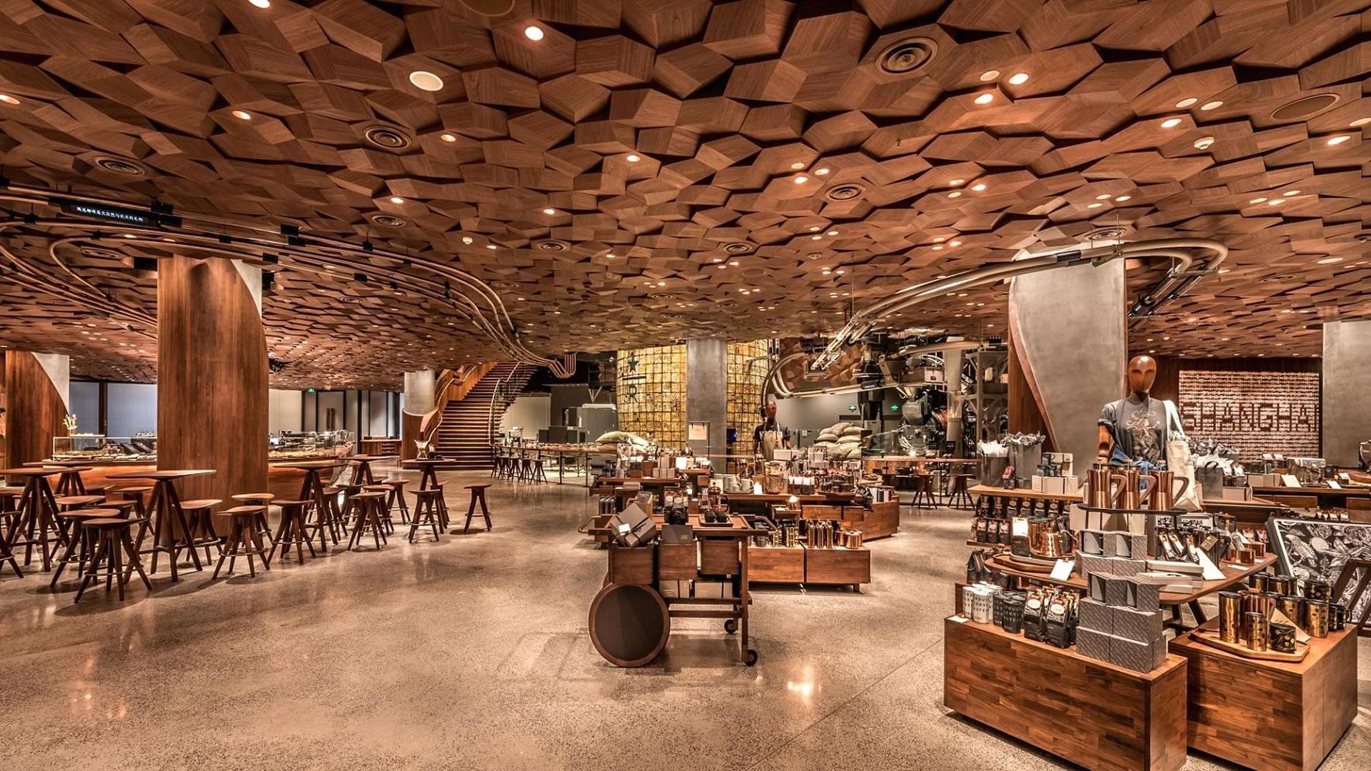 Starbucks abre su cafetería más grande del mundo