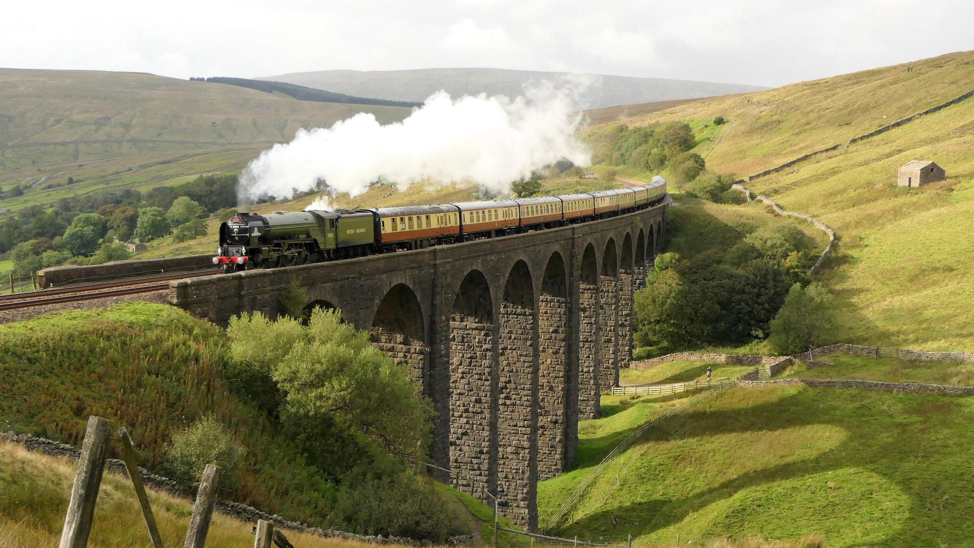 Tour a vapor: un legendario tren para recorrer Gran Bretaña