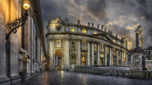El Vaticano pinta sus paredes con leche