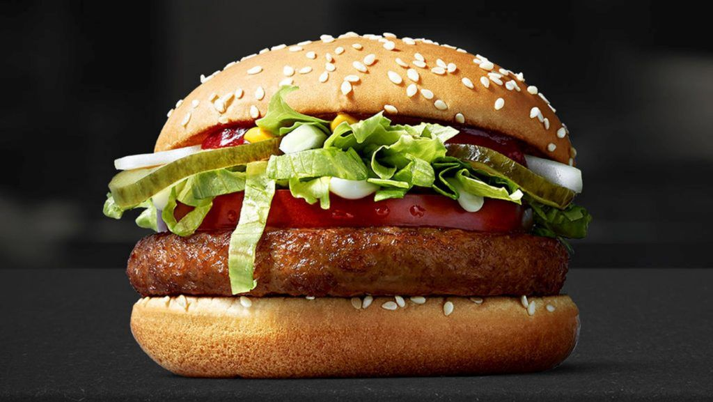 Llegó McVegan, la hamburguesa vegetariana de McDonalds (solo a algunos mercados)