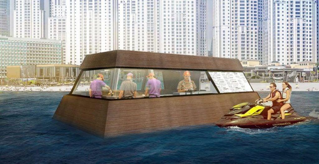Llega el primer food truck flotante a Dubái