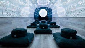 Un nuevo atractivo turístico en New York: un estudio de meditación y relajación móvil