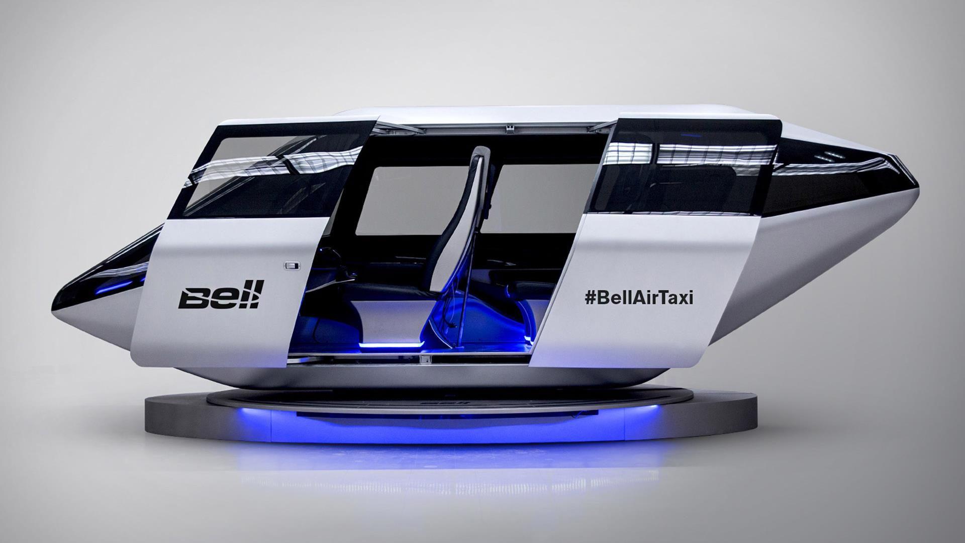 Así serán los taxis voladores de Uber que despegarán en 2020