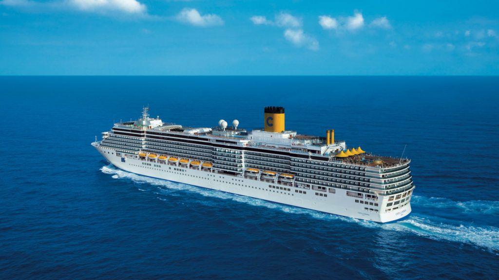 Parte el crucero Costa Luminosa que recorre 5 continentes y 41 destinos en cien días