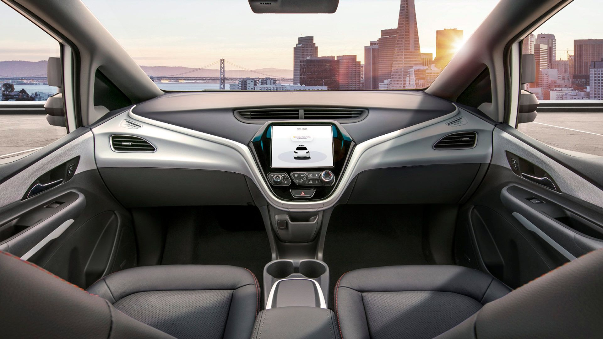 El nuevo automóvil de GM no tiene volante