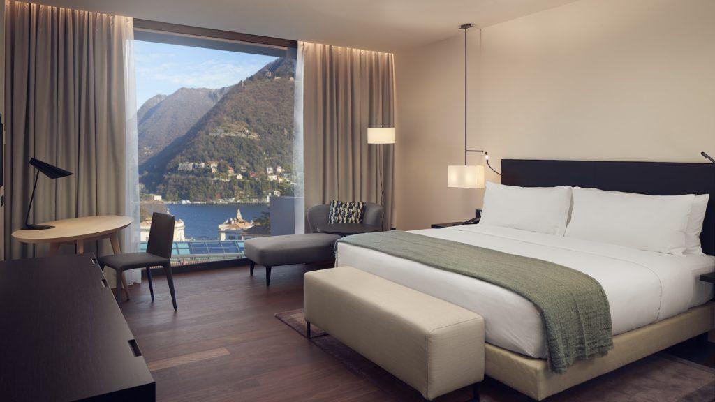 Hilton inauguró su hotel de lujo en Lago de Como