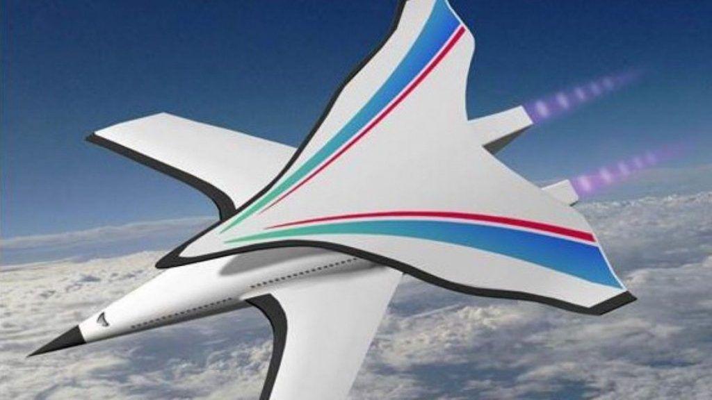 El avión que permitiría ir de Nueva York a China en sólo dos horas