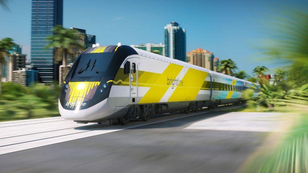 El tren que conectará Miami con Orlando en tres horas