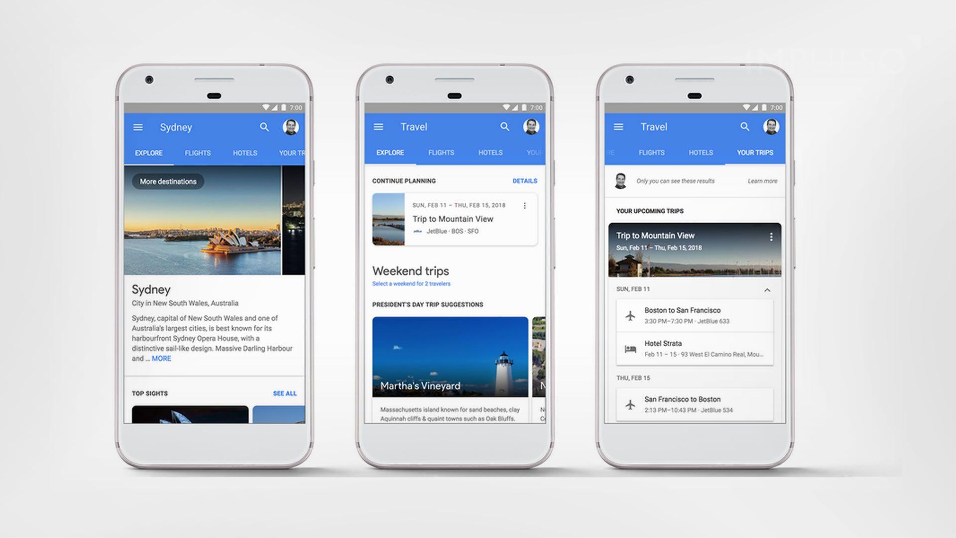 Google quiere que reservemos vuelo y hotel directamente desde la búsqueda