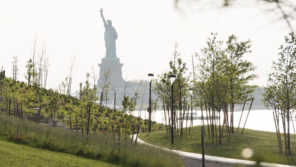 Nueva York suma otro atractivo: se podrá acampar en Governors Island frente a la Estatua de la Libertad