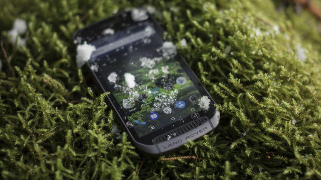 Land Rover Explore: el teléfono para la aventura