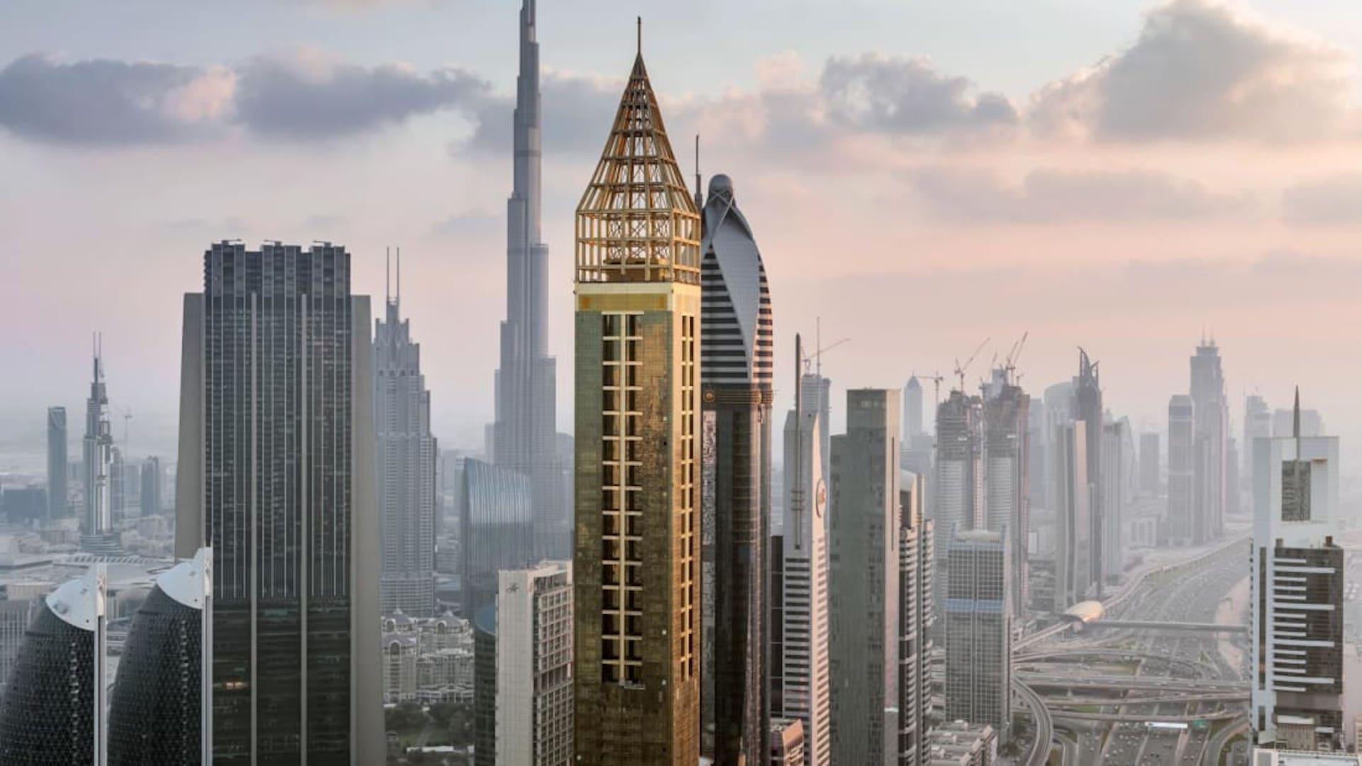Este es el hotel más alto del mundo: The Gevora Dubái