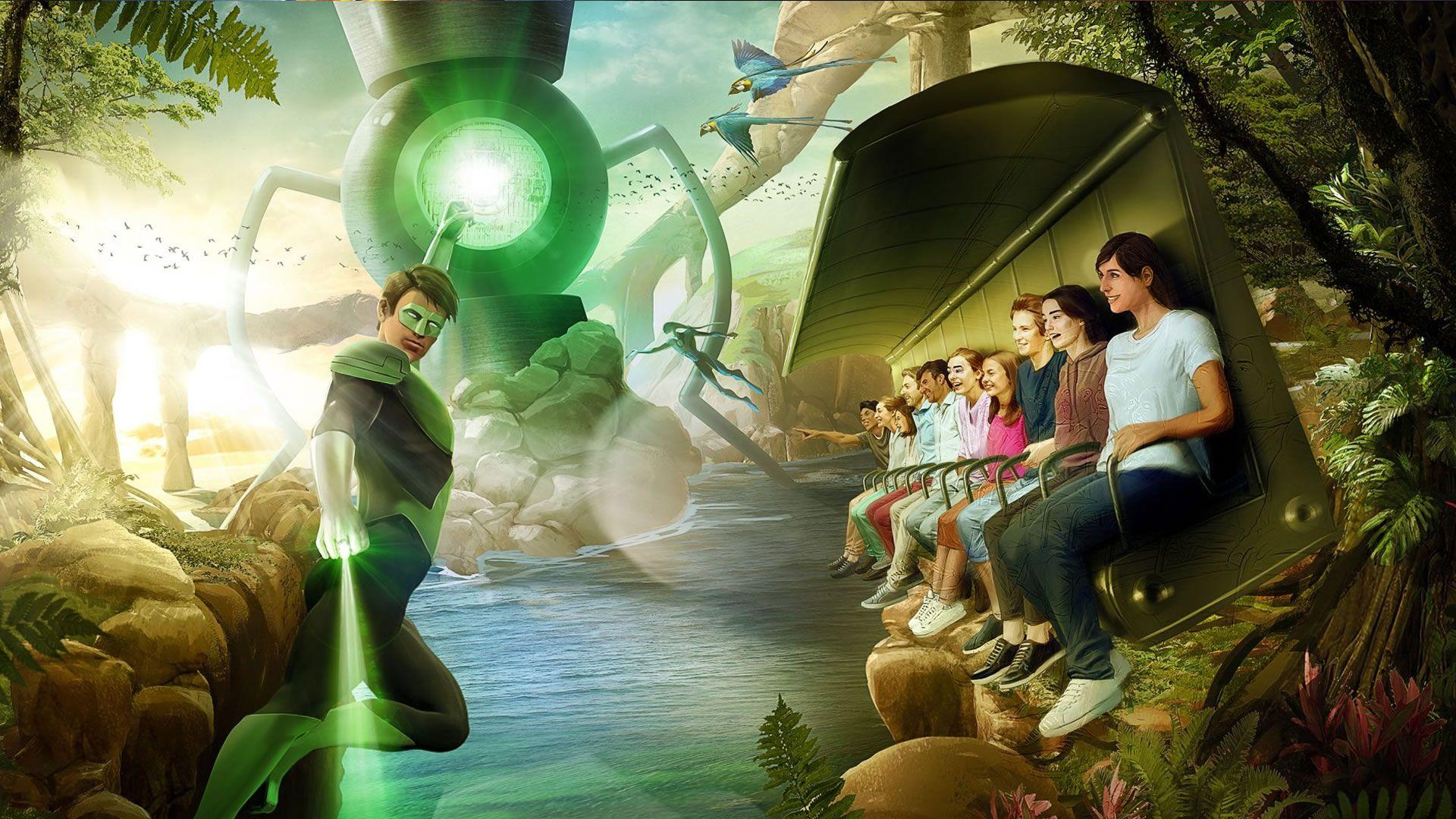 Así será el parque Warner Bros. World Abu Dabi