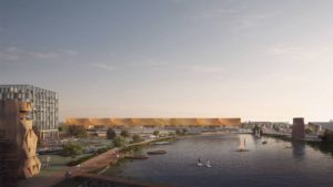 El aeropuerto que tendrá autos sin conductores, piscinas, deportes y más