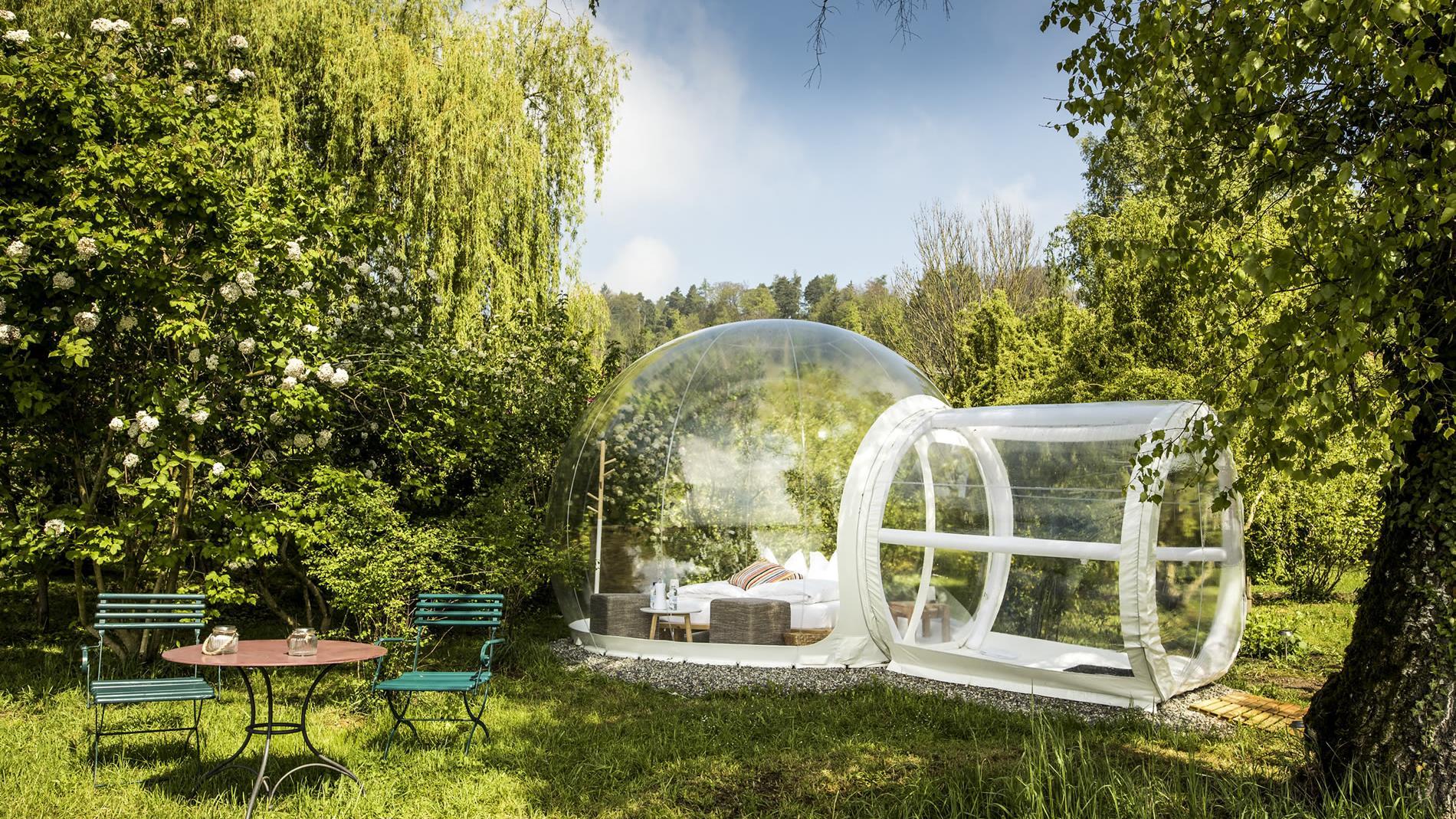El hotel burbuja que abre en Suiza