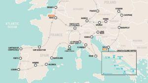 Un concurso para viajar tres meses por Europa todo pago