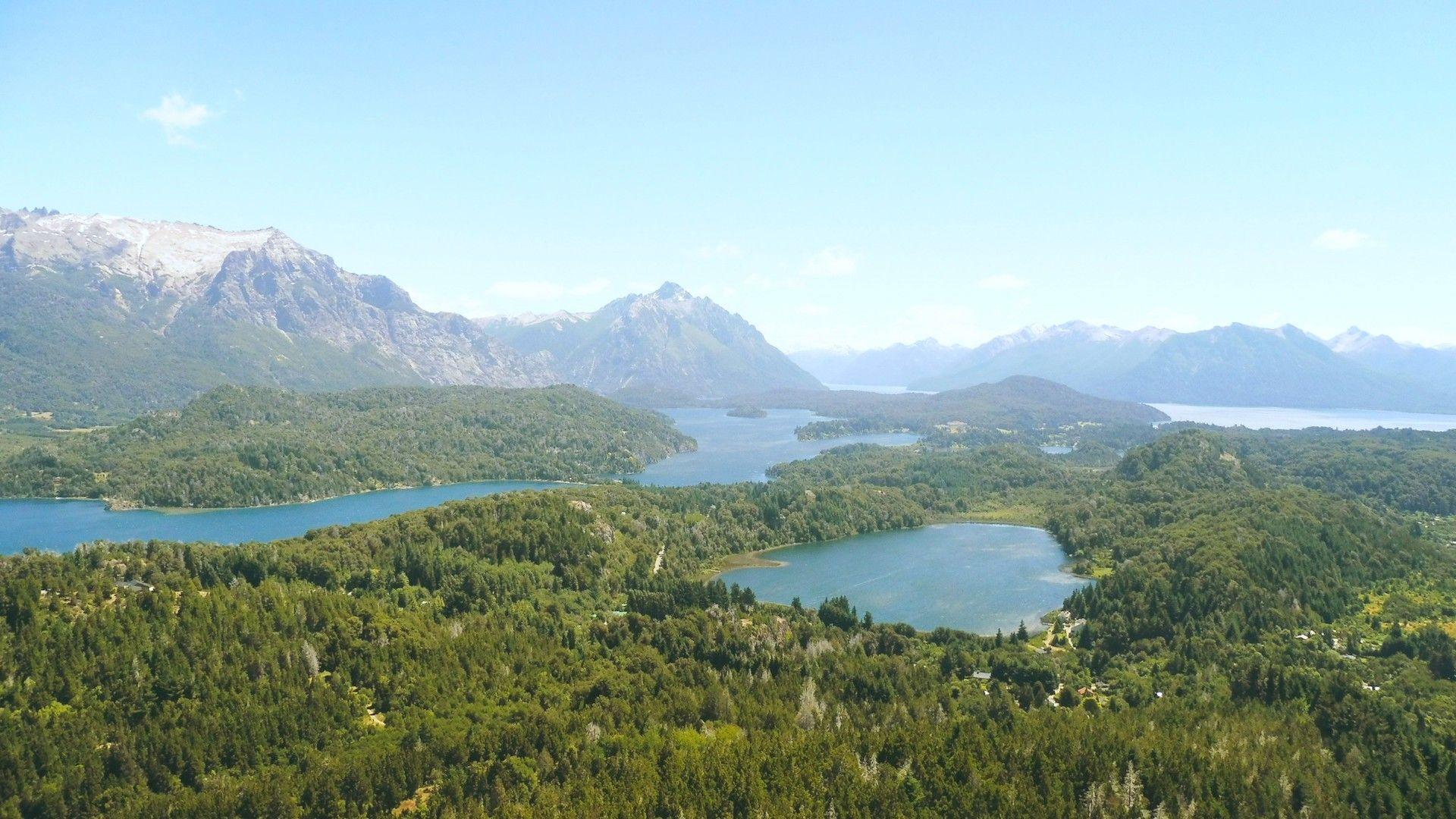 Así se ve Bariloche desde el Cerro Campanario: la mejor vista de la ciudad