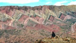 Así es el cerro de 14 colores en la Quebrada de Humahuaca: imágenes