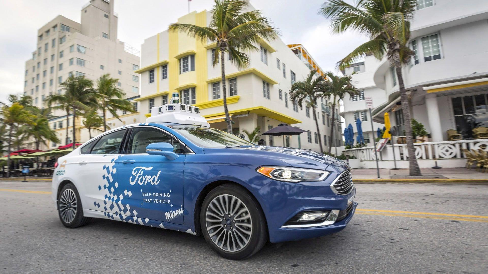 Los vehículos autónomos llegaron a Miami