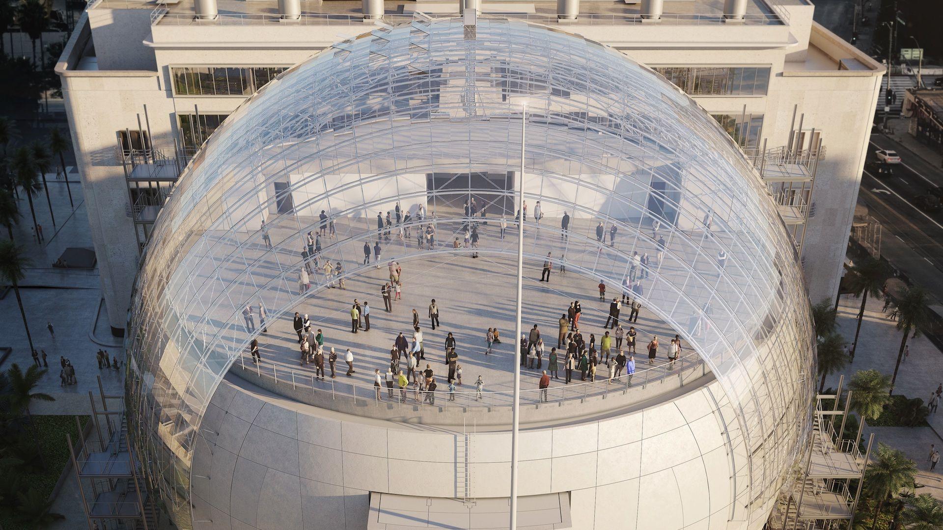 Así será el Museo del Cine de la Academia de Hollywood: abre en 2021