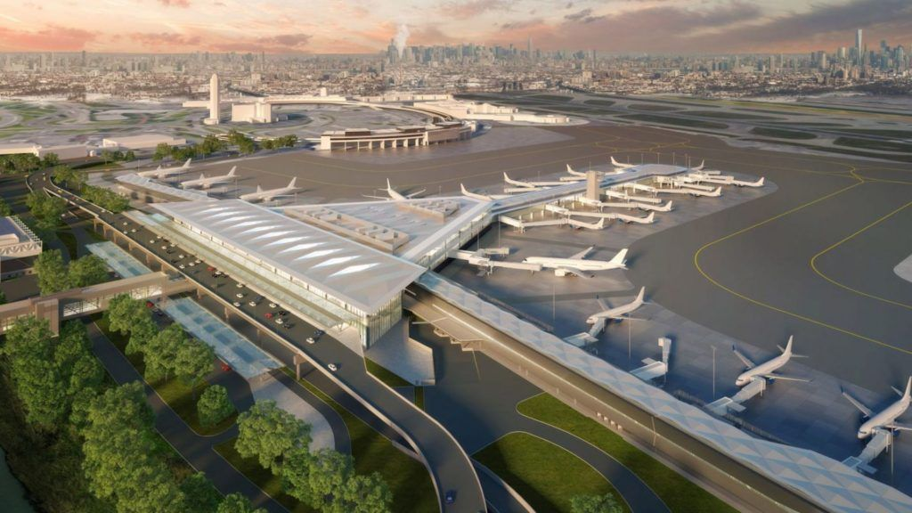 Así será el nuevo aeropuerto de Newark en Nueva York