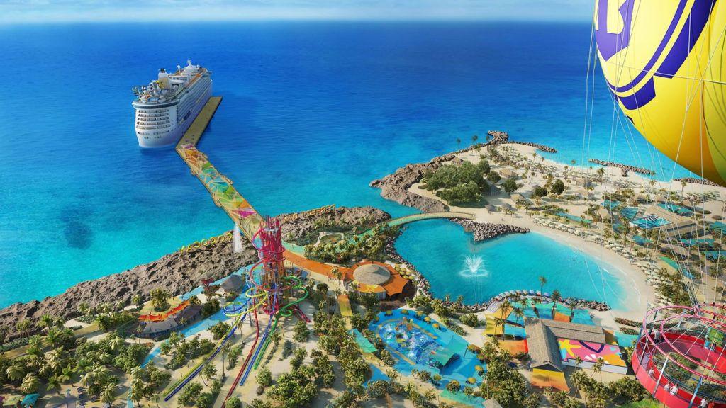 Así será la nueva y divertida isla privada de Royal Caribbean en Bahamas