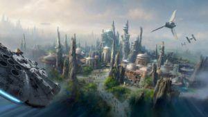 Así avanzan las obras de los parques temáticos de Star Wars de Disney: video