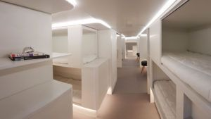 Airbus quiere transformar la bodega del avión en camas, y la idea es fantástica