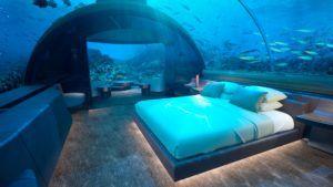 La primera habitación bajo el agua abrirá en Maldivas